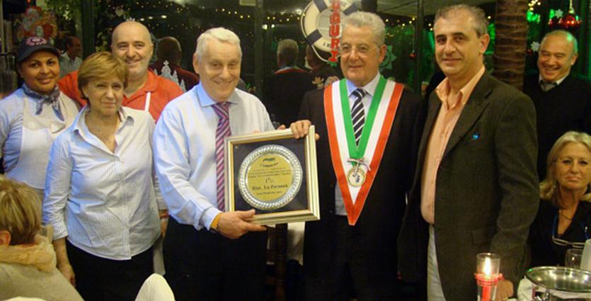 gambero premiazione 2011