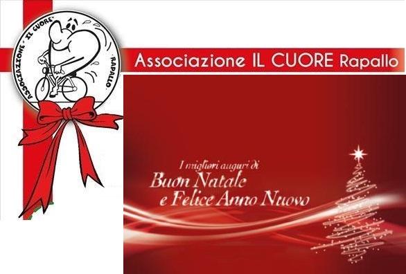 Buon Natale 2016 e Felice Anno Nuovo 2017 dall'Associazione IL Cuore di Rapallo